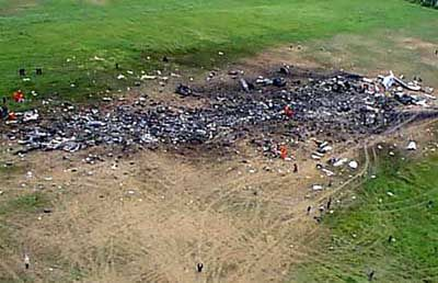 UNITED FLIGHT 93 SHANKSVILLE PENNSYLVANIA