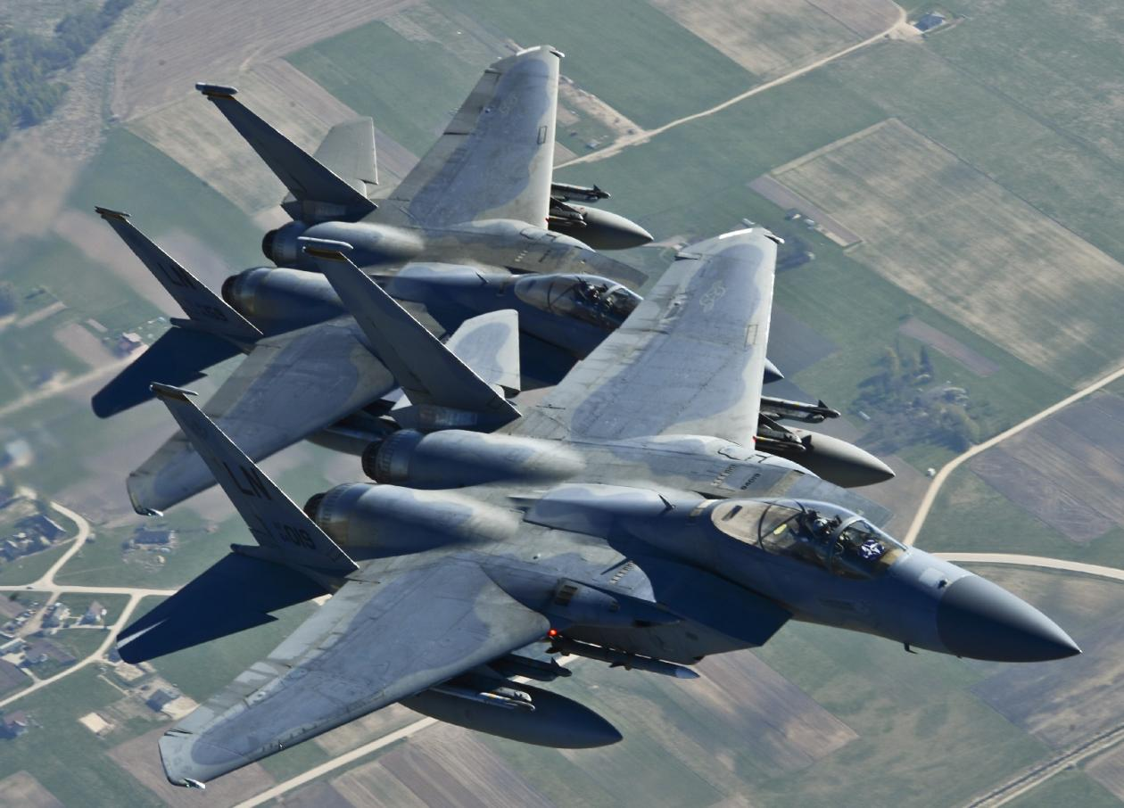 f15 eagles told to stand down by norad