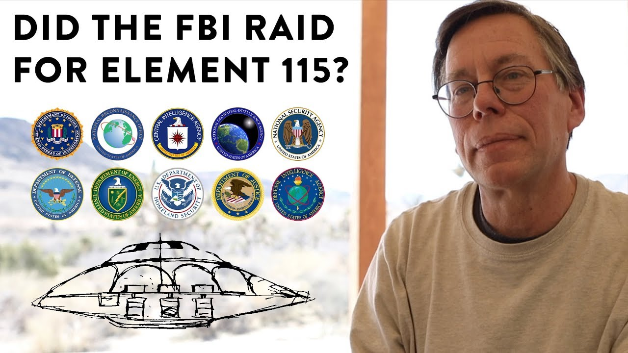 Bob Lazar Area 51 Element 115