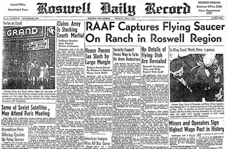 "The ""Roswell Incident"""