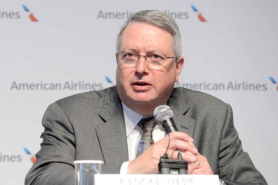 Interview of Timothy Ahern of American Airlines Conducted by Team 7