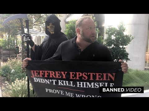 Alex Jones Crashes Google Campus Over Epstein Murder Coverup