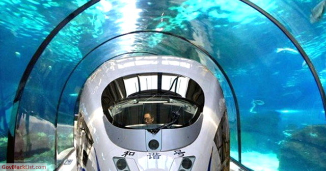 China underwater tunnel