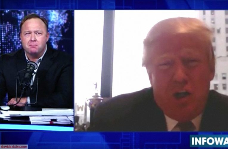Alex Jones Calls President Trump Out