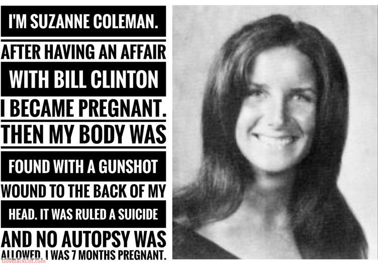 clinton body count suzanne coleman