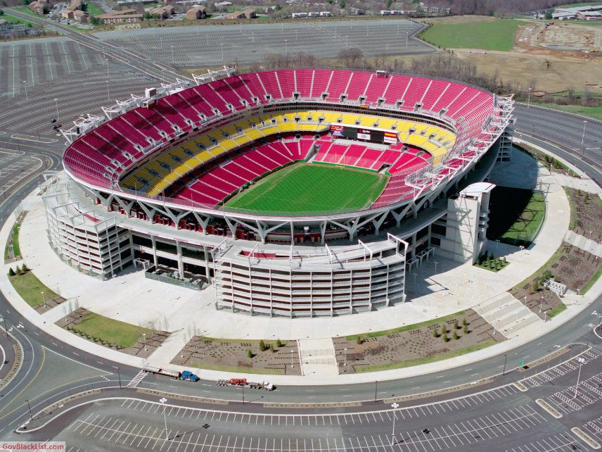 National Guard Fed Ex Stadium Maryland